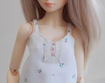Flower print camisole for MSD Minifee/Unoa, Slim Mini