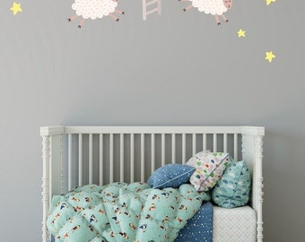 Nursery Wall Decals, Wall Decals Nursery, Baby Wall Decal, Kids Wall Decals, Wall Decal Nursery, Nursery Wall Decal, REMOVABLE REUSABLE