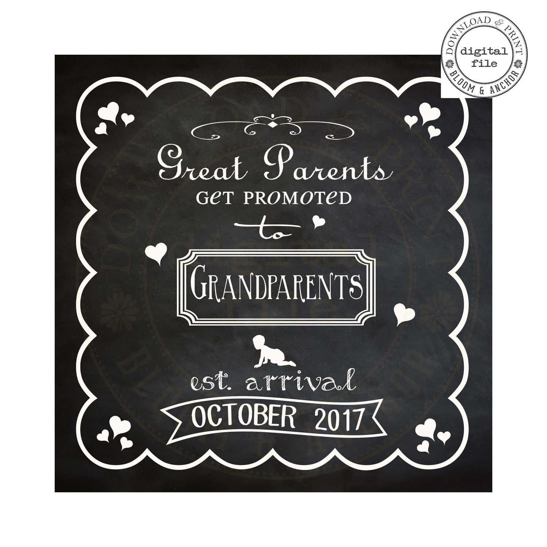 Chalkboard birth – Chalkboard Birth Announcement