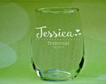 Bridesmaid Glasses, Wedding Glasses, Wedding Party Glasses, Bridesmaid Glasses, Boho Wedding Glasses, Bridesmaid Gift, Bohemian