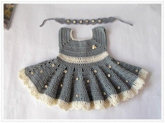 stricken h keln baby kleid neugeborenen kleider graue baby. Black Bedroom Furniture Sets. Home Design Ideas