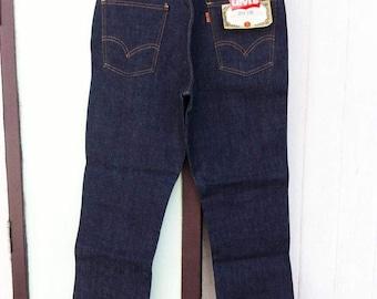 Vintage 60's Levi's Big E 606 31X28 Deadstock