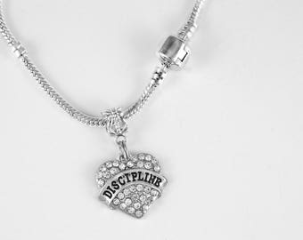 Discipline Jewelry  Discipline Gift Dicipline Necklace Strict Military 50 Shades Key Chain European Style Key Chain
