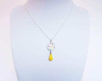 """Necklace """"Princess"""" for girl, 72 reasons to choose - gold or silver - think to read the description!"""