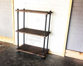 Industrial Shoe Rack - Bookshelf - Book Shelf
