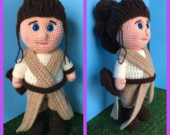 Rey Star Wars Amigurumi (PDF file only, not the finished doll)