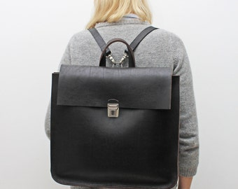 Thick Leather Backpack | Crazy Backpacks