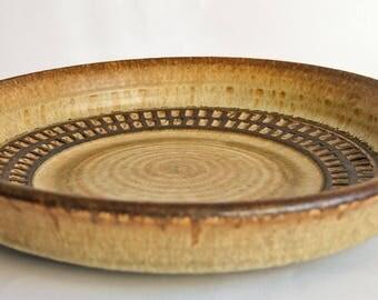 Soholm Denmark, Joseph Simon, Large Stoneware Platter or Bowl