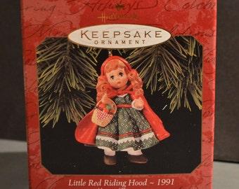 1997 Hallmark Ornament-Madame Alexander 2nd in Series-Little Red Riding Hood