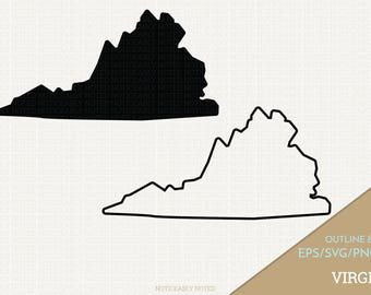 virginia vector state clipart va clip art virginia svg state png