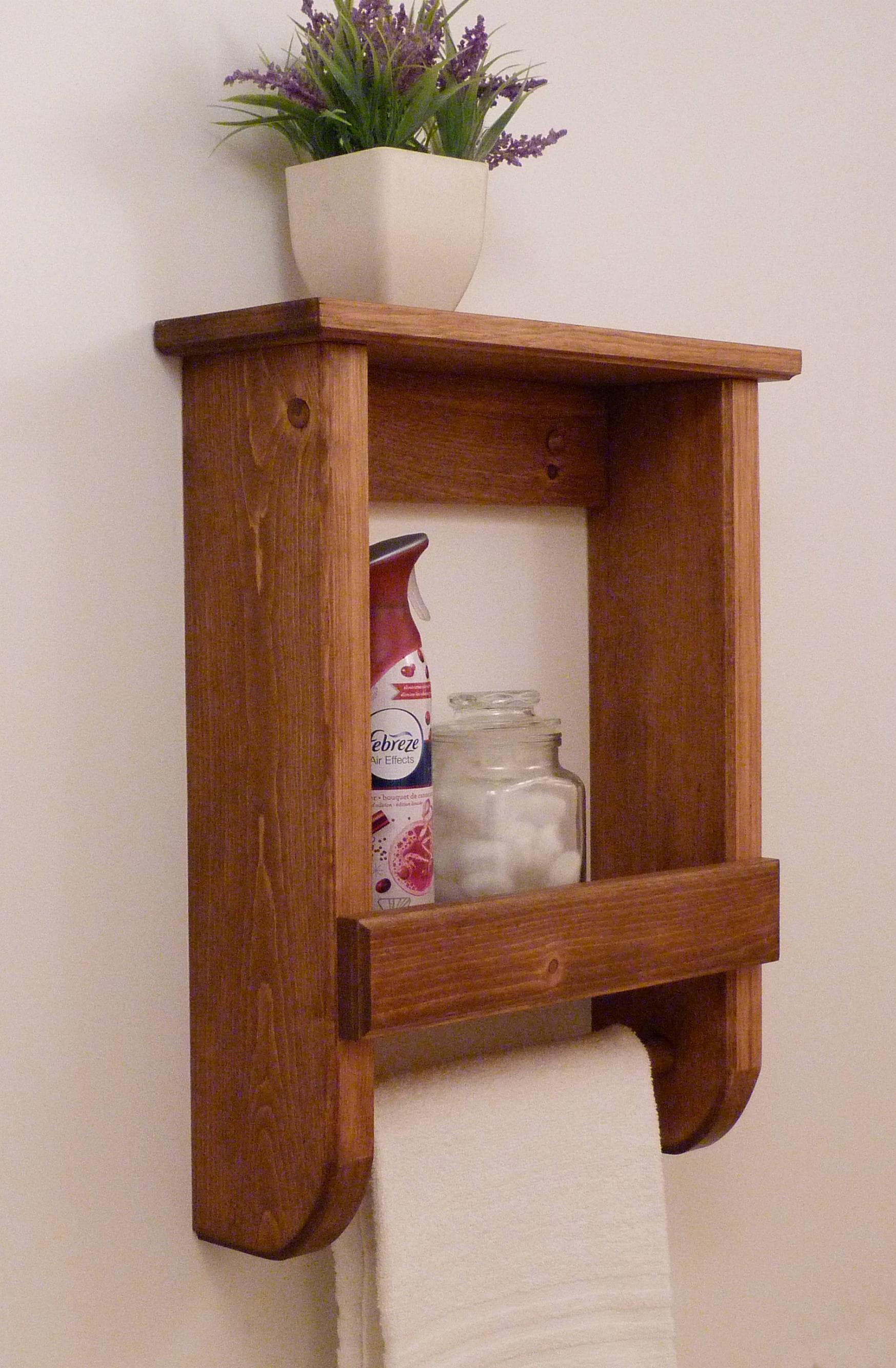 bathroom shelf bathroom shelf with towel bar towel rack. Black Bedroom Furniture Sets. Home Design Ideas