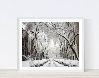 Winter in New York, winter manhattan, nyc winter, nature photography, winter wall decor, manhattan wall decor, Digital Prints, NYC, #CS4