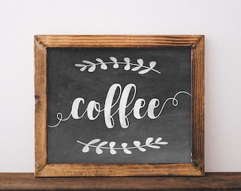 Coffee Sign, printable, coffee print, coffee poster, coffee printable, coffee prints, coffee art, coffee wall art, coffee wall decor