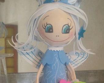 Fofucha snow fairy