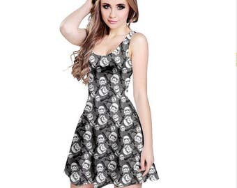 Stormtrooper Dress - Skater Dress Empire Dress Cosplay Dress Comicon Dress Plus Size Dress Sci-Fi Dress Dark Side Dress Stormtroopers