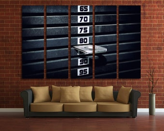 gym wall art  etsy