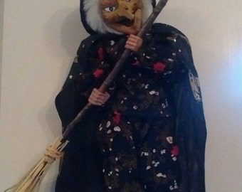 Hanging Collectable Witch Doll