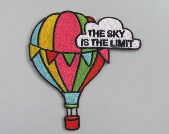 Sky is the Limit Iron on patch