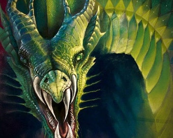 Dragon of the Emerald Mountains