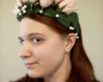 Spring Rose Crown