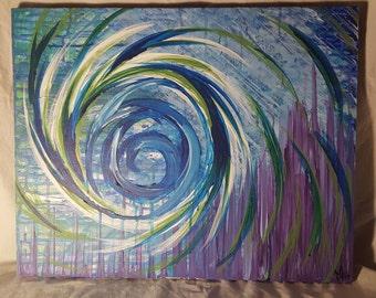 """Original Painting - 'Vortex of Peace"""""""
