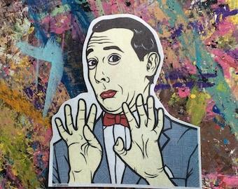 Pee Wee Herman Sticker