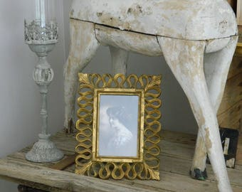 Age Gilded frame - Wooden Baroque frame - Gilt frame -