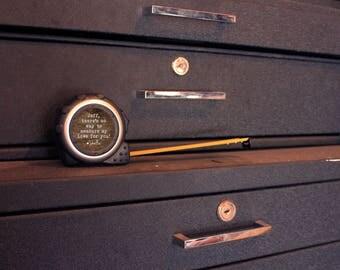 16ft Metal Carpenter Measuring Tape w/ Belt Clip & Lock, Personalized Custom Gift Father's Day Husband Handyman --28051-MT01-600