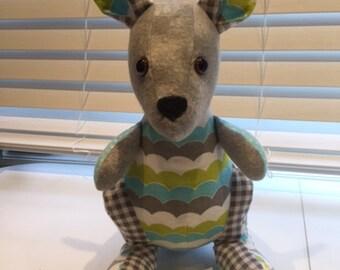 Custom Handmade Memory Keepsake Kangaroo
