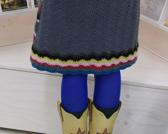 woodwoolstool midi skirt pattern (english and dutch version)