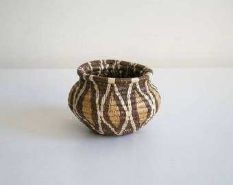 Mini Handwoven Basket