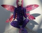 Art Doll Fairy OOAK, Pixie