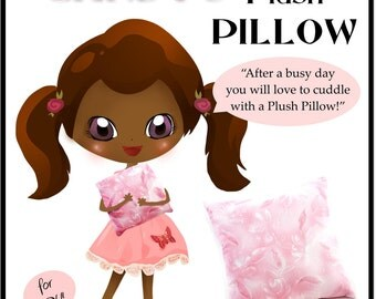 Pixie Candy's Plush Pillow Tutorial - Learn How to Sew for Kids