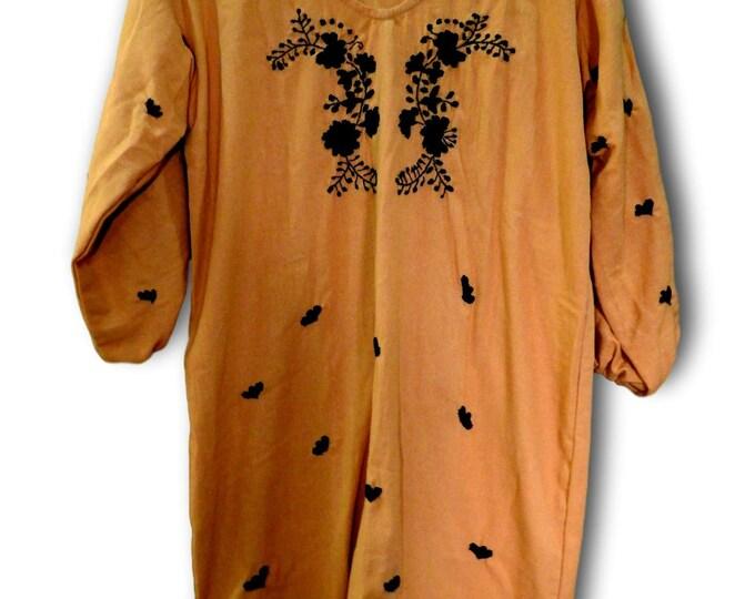 Boho tunic plus size hippy chic