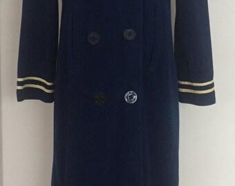 Vintage Blass at Ease Bill Blass Nautical Robe