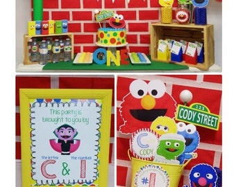 90% OFF | Sesame Street Party Printable | Elmo Birthday | Sesame Street Birthday Decorations | Elmo Party | Any Age | Epic parties by REVO