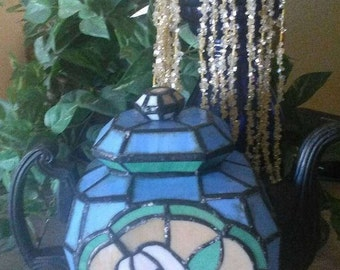 Stained Glass Teapot Lamp? Decor Led Candle Endless Possibilities