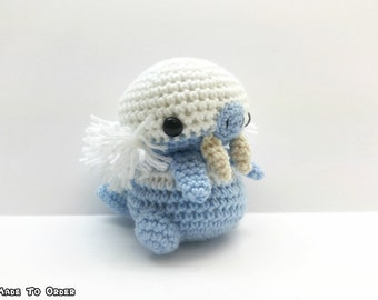 Crochet Walrein Inspired Chibi Pokemon
