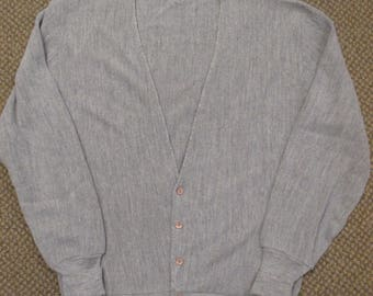 Christian Dior size large Men's Gray cardigan sweater