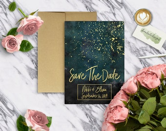 WATERCOLOR|Save the Dates #0709
