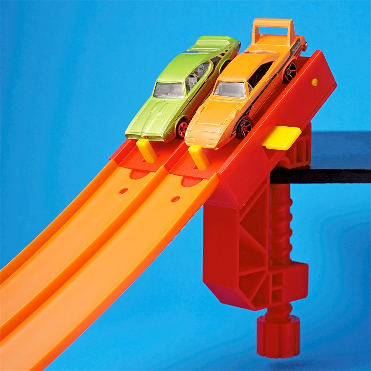 Car Wont Start When It Gets Hot Page1: 2-Lane Start Gate W/Clamp For Hot Wheels Toy Cars & Track