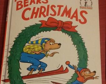 The Bears' Christmas, Berenstain Bears, Vintage Berenstain Bears, Berenstain Bears Christmas, Children's Books, Vintage Berenstein Bears