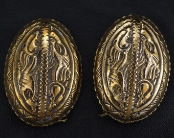 Viking Period Oval Brooch Set
