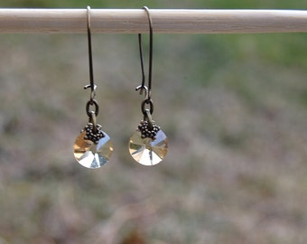 Simple Everyday Dangle Earrings, Gift for Her, Boho Chic Vintage Style Jewelry, Gift Ideas for her, Bridesmaid earrings, Mothers day gifts