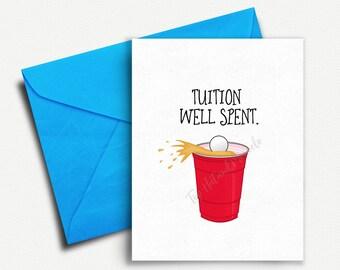 Graduation Gift for Him, College Graduation Card, Grad Card Funny, Graduation Invitation, Funny Graduation Card, Graduation Party Invite
