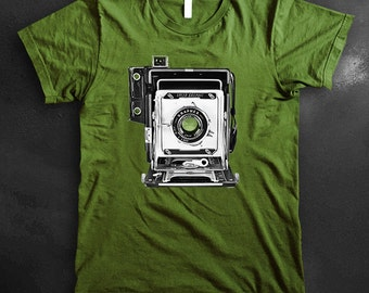 Speed Graphic Large Format Camera Shirt