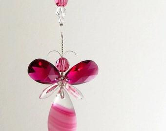 Butterfly dragonfly fairy angel mobiles door mobilesuncatchers - Jongetje kamer idee ...