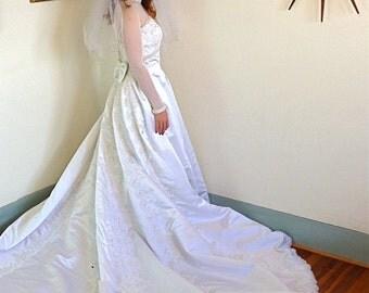 J Crew Gown Silk Wedding Dress Column Wedding Dress