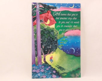 NEW! Vintage Dayspring Thinking of You Greeting Card and Envelope.