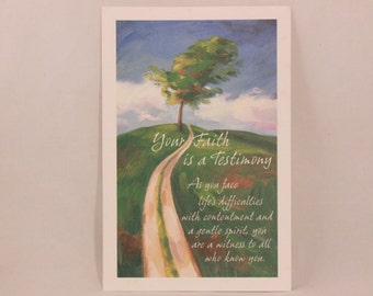 NEW! Vintage Dayspring Faith Greeting Card and Envelope.